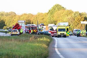 A24 crash at Dial Post ... Police are appealing for witnesses SUS-190910-103600001