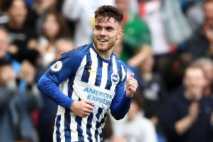 Brighton and Hove Albion striker Aaron Connolly will hope to make his debut for Ireland against Georgia in the European Qualifiers