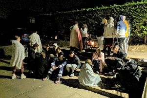 The Big Sleep Out at Lancing College saw 48 staff and students spend the night outside