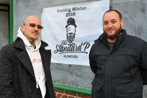 Joint owners Jamie Farndell and Ben Roberts of The Standard P in Sea Road, East Preston. Pic: Steve Robards