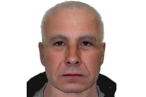 An e-fit of the suspect from Sussex Police