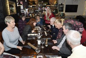 Care for Veterans residents enjoyed Christmas lunch at The Park View pub in Worthing as part of Heineken's Brewing Good Cheer campaign