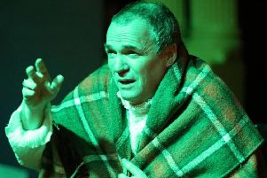 Gary Andrews as Salieri. Picture by Kevin Day