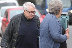 Father William Haymaker was order to pay 3,700 and carry out 200 hours of unpaid work when he appeared at Hove Crown Court yesterday. Photo by Eddie Mitchell