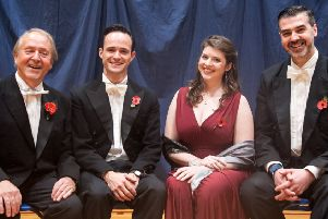 From left to right: Robert Hammersley, Lawrence Olsworth-Peter, Olivia Bell and Robert Davies. Picture by Melvyn Walmsley