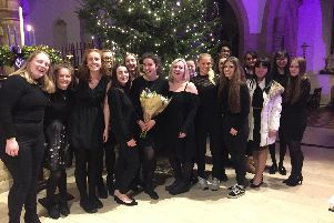 Collyer's Christmas Concert was held at St Mary's Parish Church, Horsham