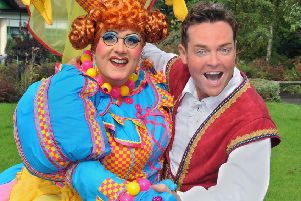 Michael J Batchelor and Stephen Mulhern. Picture by Paul Clapp