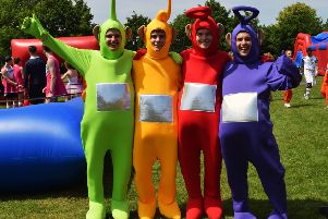 The Teletubbies at The Weald