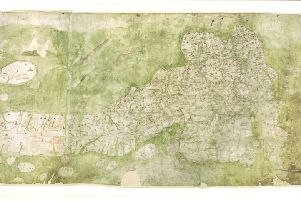 Gough Map, copyright Bodleian Libraries, University of Oxford