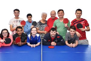 Horsham Table Tennis Club (HTTC) and Horsham District Council hope to encourage more people to play table tennis