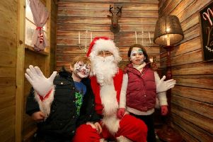 Santas magical grotto will be open for all small visitors to share what they hope to receive this Christmas