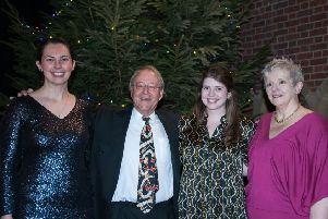 From left: Marianne Goodale, Robert Hammersley, Olivia Bell and Kathryn James. Picture by Melvyn Walmsley