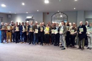 Delegates at the Arun Valley Vision Group's launch of its report, A Vison for the Arun Valley
