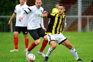 Action from August's encounter between Horsham YMCA and Loxwood. All pictures by Steve Robards.