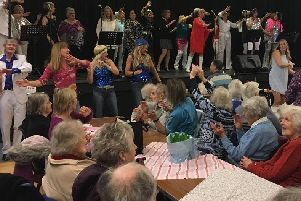 An ABBA-themed concert was held for more than 80 residents in Storrington, Pulborough and Ashington SUS-190129-155105001