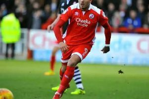 New Huddersfield Town signing Karlan Ahearne-Grant in action for Crawley Town last season. Picture by Steve Robards