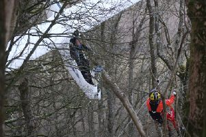 The pilot of the glider has been rescued