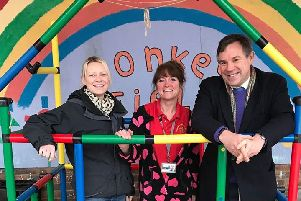 Donkey field pre-school in Crawley Down is celebrating after it won the Judges Choice Award in the Aviva Community Fund project