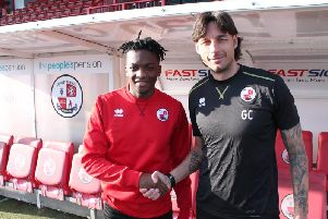 Matty Willock with Gabriele Cioffi