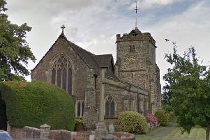 Many of the offences took place while Wilson worked at St Margaret's Church in Warnham. Picture: Google Streetview