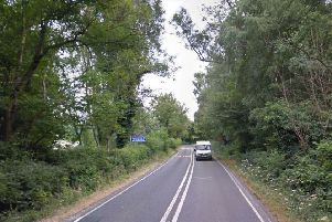The collision happened on the A272 at Ansty. Picture: Google Street View