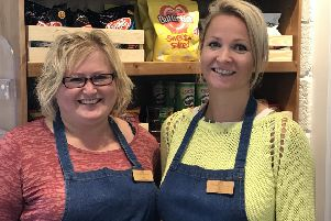 (L-R) Fittleworth stores assistant managerToni Humphrey and shop manager Sarah Hawkins