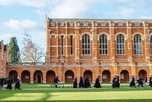 Christ's Hospital School in Horsham has been likened to Hogwarts from Harry Potter SUS-190503-142921001