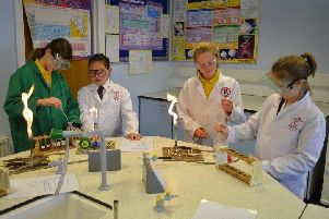 Upper Beeding Primary School pupils celebrated the 50th Anniversary of the Moon Landing