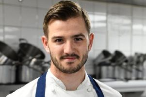 Ricki Weston is competing in the semi-finals of The Roux Scholarship for the second year running