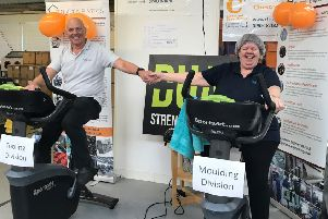 The spinathon in aid of Chestnut Tree House