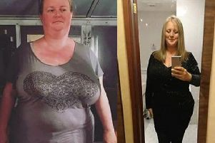 Claire before and after