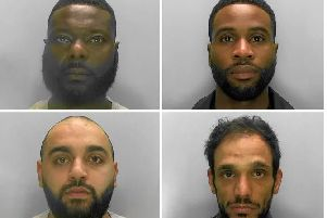 Top left: Francis Gomez; top right: Jamal Sultan; bottom left: Laeek Ahmed; bottom right: Syed Hussain