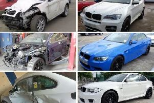 Some of the vehicles involved in the car ringing conspiracy SUS-190304-134639001