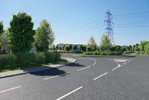 Plans for a new business park on the northern edge of Billingshurst off the A29