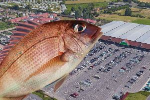 A customer at Asda in Ferring allegedly threw a fish at a fellow bargain hunter. Picture: Google Maps