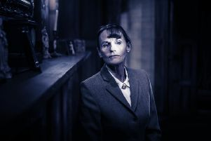 Gwyneth Strong in The Mousetrap. By Johann Persson
