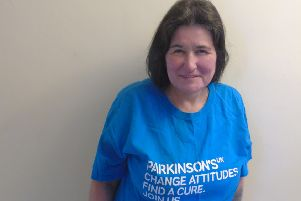 Jacqui is taking on an abseil in aid of Parkinson's UK