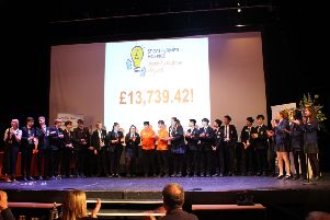 Students raise more than 13,000 pounds for St Catherine's Hospice