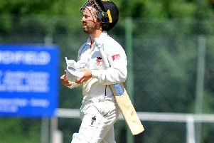 Will Beer topscored for Horsham in their six-wicket away defeat to Preston Nomads on Saturday. Picture by Steve Robards