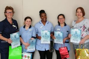 Red Oaks care home in Henfield celebrated its nurses for International Nurses' Day SUS-190521-161411001