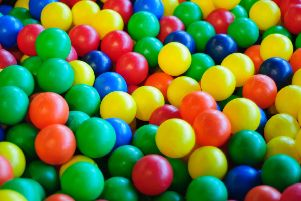 Soft play ball pit