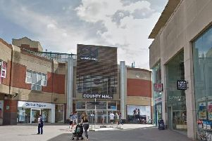The entrance to County Mall. Picture via Google Maps