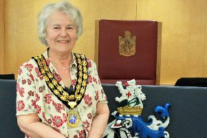 New Horsham District Council Chairman Cllr Kate Rowbottom