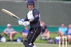 Roffey's Ben Manenti struck an excellent 135 off 101 balls in the Boars convincing eight-wicket home win over East Grinstead in the Premier Division on Saturday. All pictures by Derek Martin