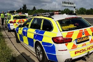 The arrests come followinginformation that some attendees to the Hells Angels 'Euro Run' may be carrying offensive weapons. Picture: Sussex Police
