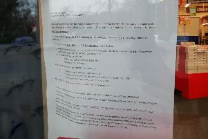 The store went into administration in March