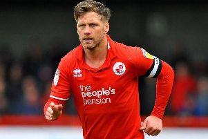Crawley Town skipper Dannie Bulman. Picture by Steve Robards