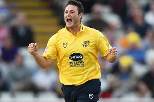 Aaron Thomason in his Warwickshire days / Picture by Getty Images