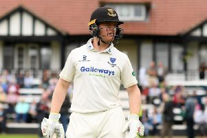 Sussex's Ben Brown. Picture courtesy of Getty Images