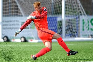 Josh James during his first spell at Horsham. Picture by Steve Robards